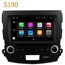 Yol Üst Winca S190 Android 7.1 Sistemi Araba GPS DVD Oynatıcı Citroen C Crosser için baş Ünitesi ile 2007-2012 Radyo navigasyon