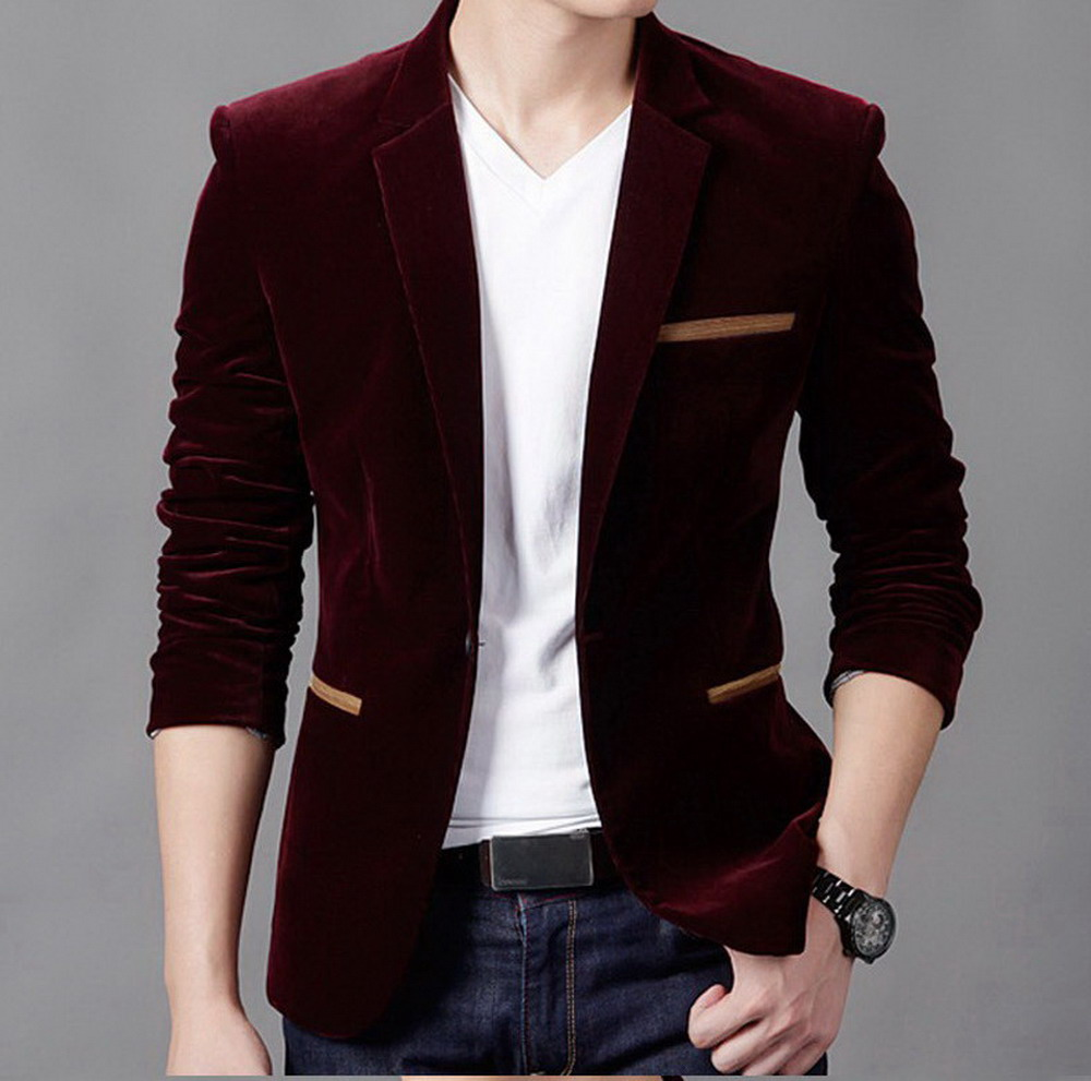 Compare Prices on Mens Black Blazer Jacket- Online Shopping/Buy ...