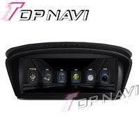 Topnavi 8.8' Android 6.0 Car GPS Navi for BMW E60 2003 2004 2005 2006 2007 2008 2009 2010 Media Center Player Stereo NO DVD 3G