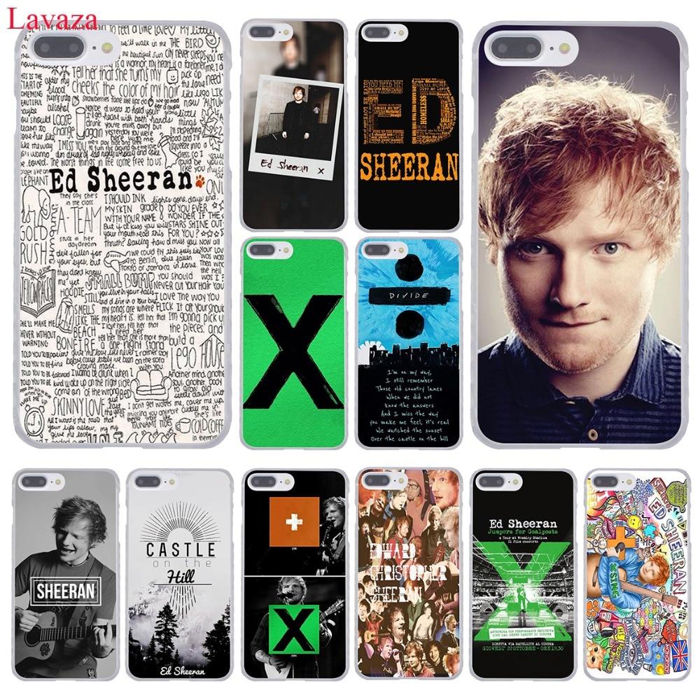 Lavaza Ed Sheeran Hard Coque Shell Phone <font><b>Case</b></font> for Apple <font><b>iPhone</b></font> 8 7 6 6S Plus X <font><b>10</b></font> 5 5S SE 5C 4 4S Cover