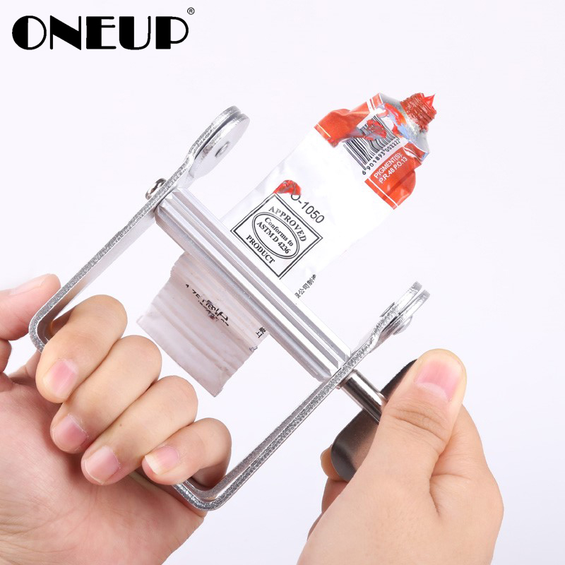 ONEUP Manual Aluminum Tube Toothpaste Squeezer Dispenser Tube Squeezing Tools Bathroom Accessories Hair Dye Tubes Rolling