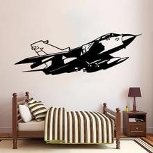 3D plane Family Wall Stickers Mural Art Home Decor vinyl Decals Kids Room Living adesivo de parede
