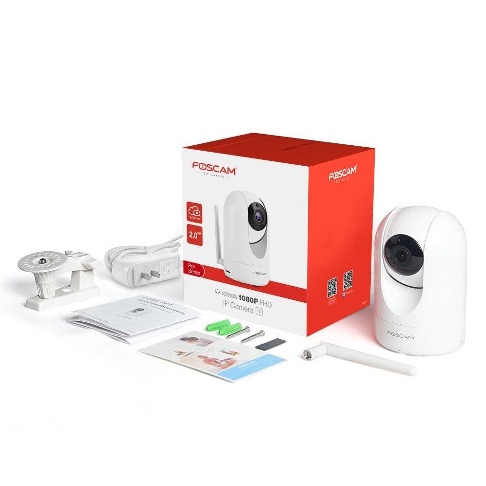 Cameră de supraveghere IP Foscam R2 1080P 2.0 MP FHD Wireless P2P IP - Securitate și protecție - Fotografie 6