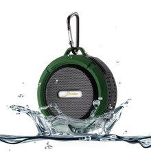 цены на Shower Speaker Lipo Battery Waterproof Bluetooth Portable Speaker V4.2 5W Driver Suction Cup TF Card Built-in Mic Rechargeable  в интернет-магазинах