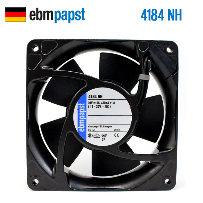 NEW ebmpapst PAPST 4184NH 12038 24V 11W metal frame cooling fan