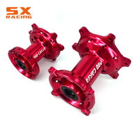 Motorcycle 36 Spokes Red Or Blue Front & Rear Rims Complete Wheel Hub For HONDA CR125 CR250 CRF250R CRF450R CRF450X CRF250X