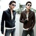 2014 обычных куртки для мужская куртка мужчина специальное предложение прямые продажи настоящее новый Pu мотоцикла кожа меховая мода