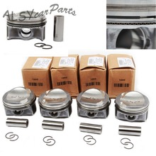 YIMIAOMO Kit grand Wave et Piston OEM 06H 107 065 CP, pour VW Passat, Golf MK6, Audi 1.8TFSI 06H198151C, broche 21mm