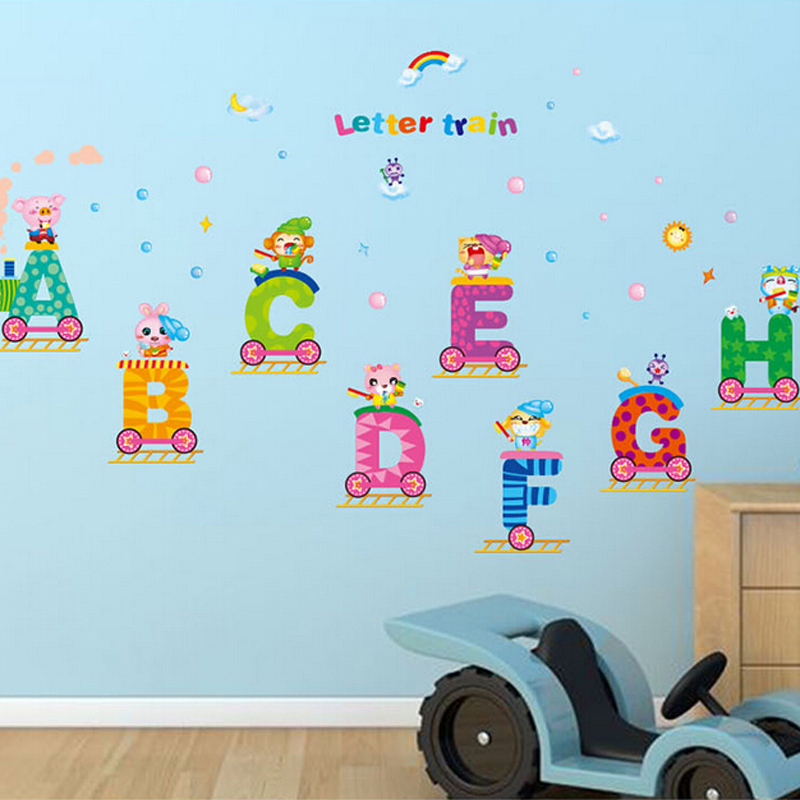 Alphabet Wall Stickers For Kids Part 38
