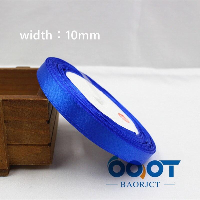 A-166910, 10 мм 31 цвет на выбор 25 ярдов шелковая атласная лента, свадебные декоративные ленты, подарочная упаковка, материалы ручной работы - Цвет: 040