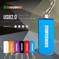 SUMSONIKO Unidad Flash USB de Alta Velocidad USB 2.0 de Memoria Flash Stick Giratoria 6 Colores Llave USB Flash Pen Drive 64 GB 32 GB 16 GB 8 GB 4 GB