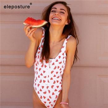 New Sexy Zipper One Piece Swimsuit Women Swimwear Push Up Monokini Bodysuit Swimsuit Print Bathing Suit Summer Beachwear XL 26