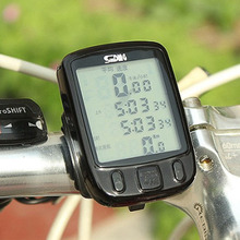 Cycling Waterproof Large screen Mountain Bike Bicycle Computer Speedometer Odometer Backlight Stopwatch Bicycle Accessories