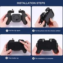 Для PUBG геймпада мобильный телефон джойстик для мобильного управления геймер Android игровой коврик L1R1 контроллер охлаждающий вентилятор