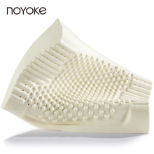 NOYOKE Thailand Imports 100% Natural Latex Pillow Orthopedic Neck Pillow Cervical Health Care Orthopedic Latex Pillow