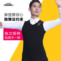 Latin dance costumse vest latin dance clothes for men latin dancing vest