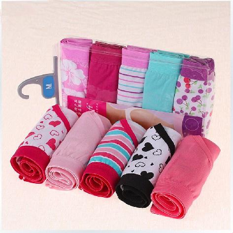 5PCS Cotton Underwears