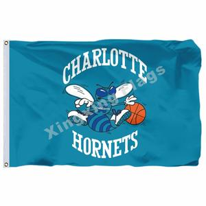 ziqiang Charlotte Hornets Flag 3x5 FT Banner Polyester NBA ce734bb80