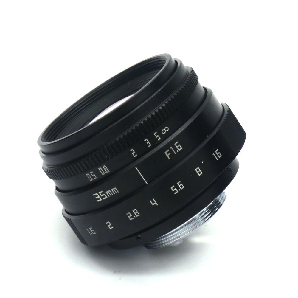 Lentet e kamerës Fujian 35 mm f / 1.6 CCTVII për kamerën Sony NEX - Kamera dhe foto - Foto 6