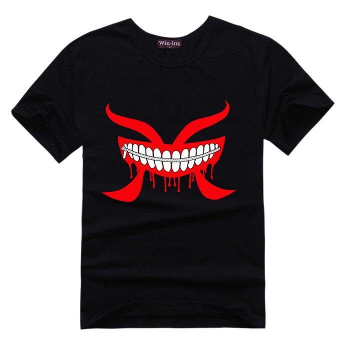 Kaneki Ken T-Shirt Tokyo Ghoul 9 Colors Anime T Shirt Men Women Unisex Tshirt Tee Gift Kirishima Touka