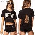 free shipping Plus Size XS ~XXL Sexy fashion vest Women halter top Casual tide T shirt