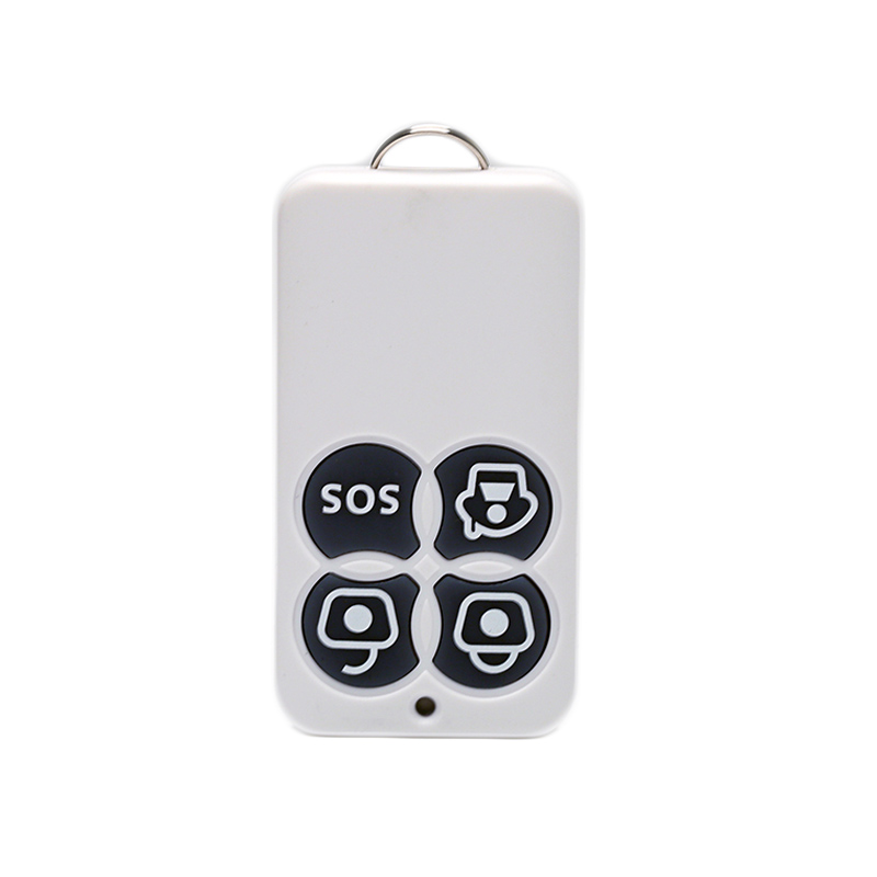 PSCBT 433MHz Wireless Remote Controller 4 buttons arm disarm sos for Home Security Alarm System 3pcs 10
