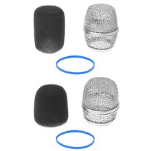 Replacement Ball Head Mesh Microphone Grille Fits For Shure Beta57a/ Beta87a(China)