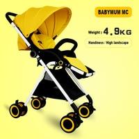 Складной легкий зонт коляска летние детские автомобиль для перевозки Багги Детские коляски Портативный противоударный коляски и прогулоч