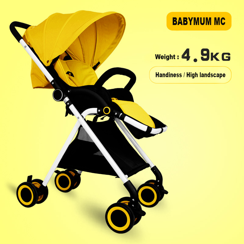 Folding Lightweight Umbrella Stroller Summer Baby Car Kids Carriage Buggy Baby Stroller Portable Shockproof Prams and Pushchairs super light luxury baby stroller high landscape folding baby car shockproof portable prams and pushchairs for newborns 4 2kg