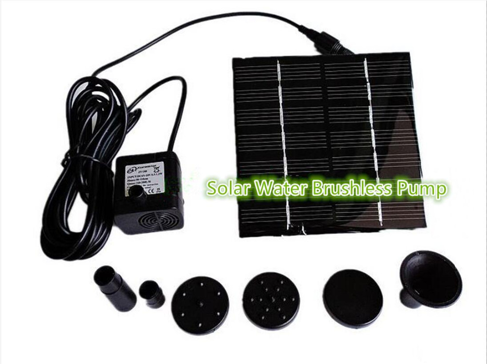 Pumps Considerate Dc 200l/h Solar Water Brushless Pump For Fountain Garden Small Type Solar Power For Pool Garde Landscape Hot Sale 50-70% OFF