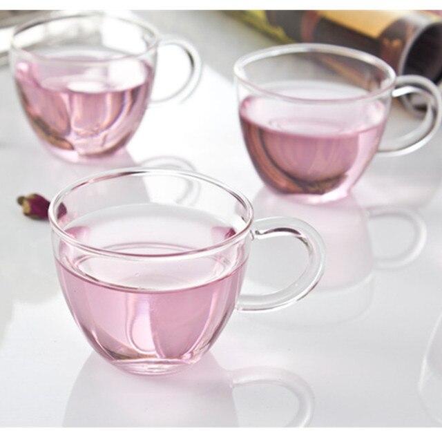 Tasse et sous-tasse à thé en verre Tasses et Mugs Cocooning.net