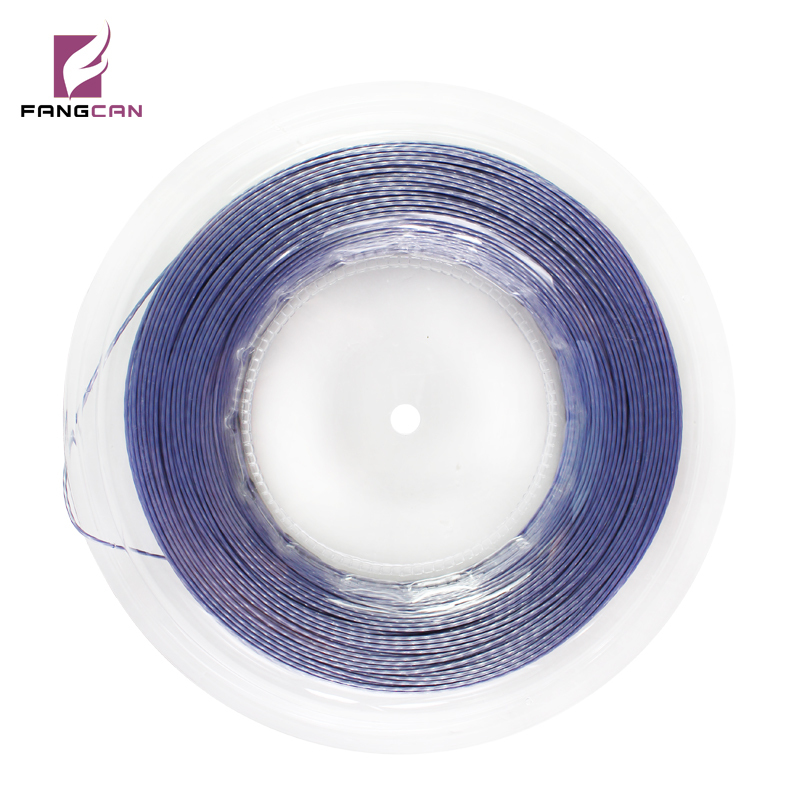 200m / roll FANGCAN Hard Polyester Tennis String Grade A Brand Tennis Racket Nylon String