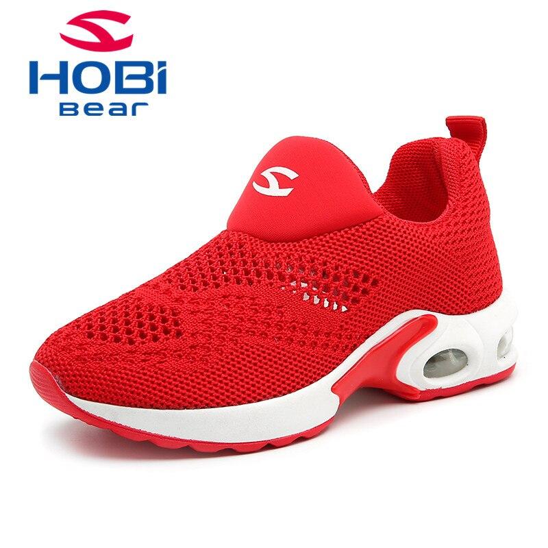 Kinderen Sneakers voor meisjes Jongens schoenen Slip op ademend Mesh - Kinderschoenen - Foto 1