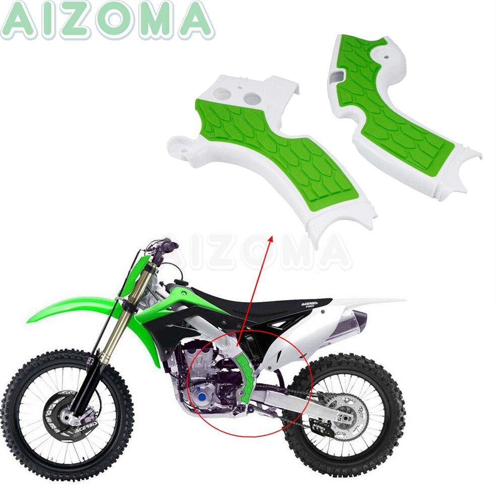 Protection de cadres pour Motocross | Pour Kawasaki KX 250 KX250 2019 KXF250 KX250F 2015-2016 2017 2018