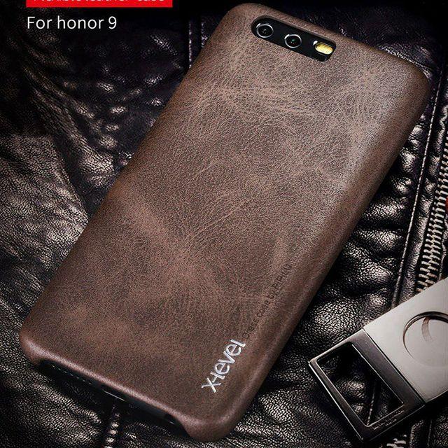 X-Cấp Đối Với Huawei P10 P9 Cộng Với/Lite Đời 9 Pro Điện Thoại Sang Trọng Da Trường Hợp Đối Với Huawei Honor 9 8 Lite V9 Cứng Bìa Honor9 STF L09