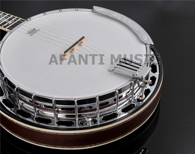 Afanti Music 5 Strings Left-hand Banjos (ABJ-99S) 4