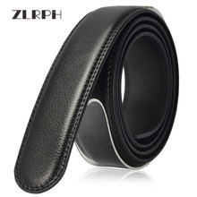 купить ZLRPH New Designer Men's Belts Fashion Genuine Leather Cowskin Belt for Men High Quality Automatic Buckle Male Waist Strap 3.5cm по цене 1003.75 рублей