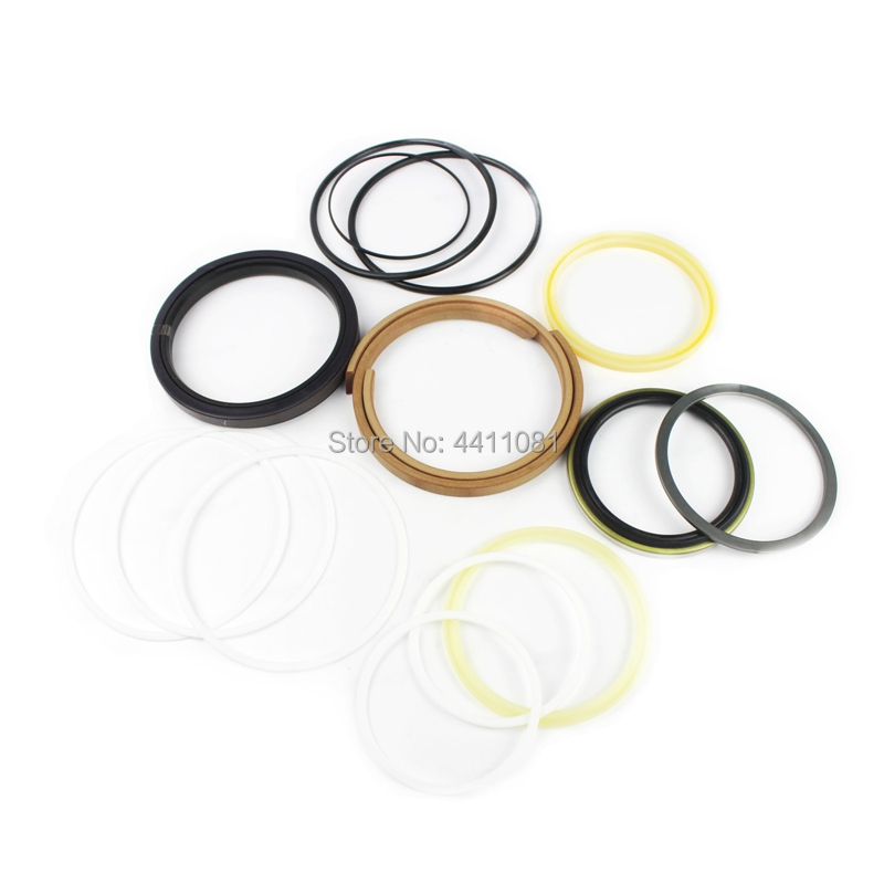 2 sets For Hyundai R300LC-7 Boom Cylinder Repair Seal Kit 31Y1-15395 Excavator Service Kit, 3 month warranty 2 sets for hyundai r360lc 7 boom cylinder repair seal kit 31y1 20910 excavator service kit 3 month warranty