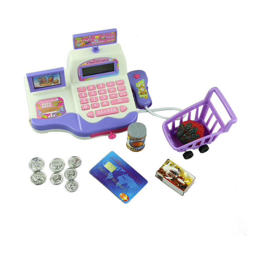 High Quality Baby Educational Toy Pretend Play Register