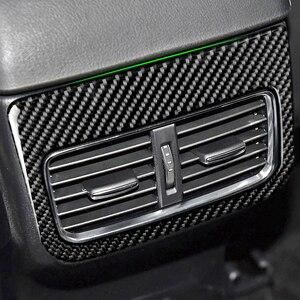 Image 2 - لمازدا CX 5 CX5 2017 2018 ألياف الكربون سيارة مركز مسند الذراع صندوق الخلفي تنفيس الهواء منفذ غطاء
