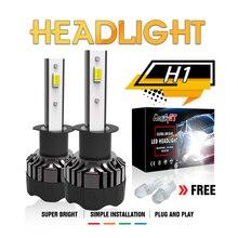 Modifygt 3 color changing 5 modes H4 led H7 led H8/H9/H11 HB3 HB4 Headlight 9005 9006 3000K 4300K 6000K 50W 9-32v