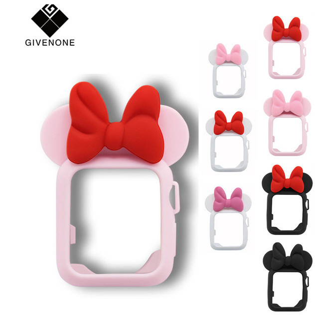 GIVENONE Cute Mickey Mouse Ear For Apple Watch Series 3 2 1...