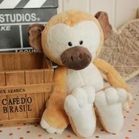 Candice guo! super Q cartoon knuffel Nici Makaak grote neus aap gevulde pop minnaar verjaardagscadeau 35 cm 1 st