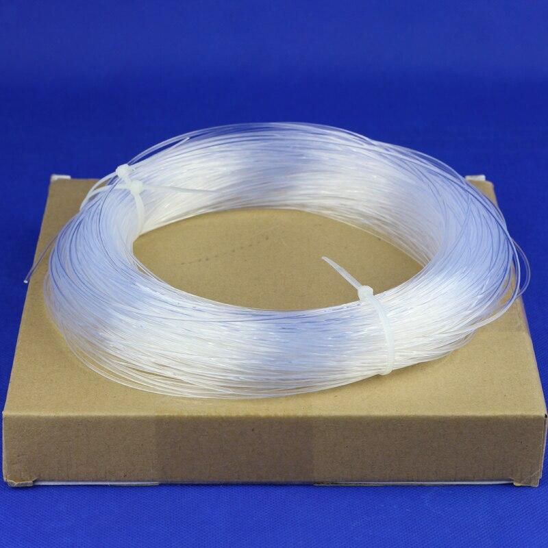 CHINLY Side Glow Fiber Optic Cable 5meters 1.5mm Plastic Fiber Optic Lighting Car Decorative Fiber Optics Cable