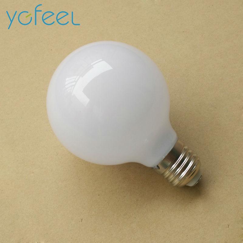 [YGFEEL] 6W LED Bulbs E27 Base Milk White Dragon Ball Bulb AC110V / 220V Cool White Light  / Warm White Light 5pcs e27 led bulb 2w 4w 6w vintage cold white warm white edison lamp g45 led filament decorative bulb ac 220v 240v