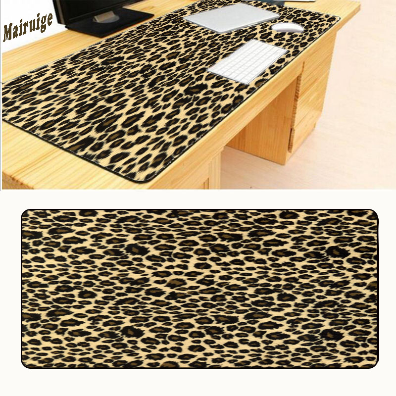 Mairuige Personality Painting Yellow Figure Leopard Round Mouse Pad Series Super Design Gaming Laptop Gaming Optical Mousepad