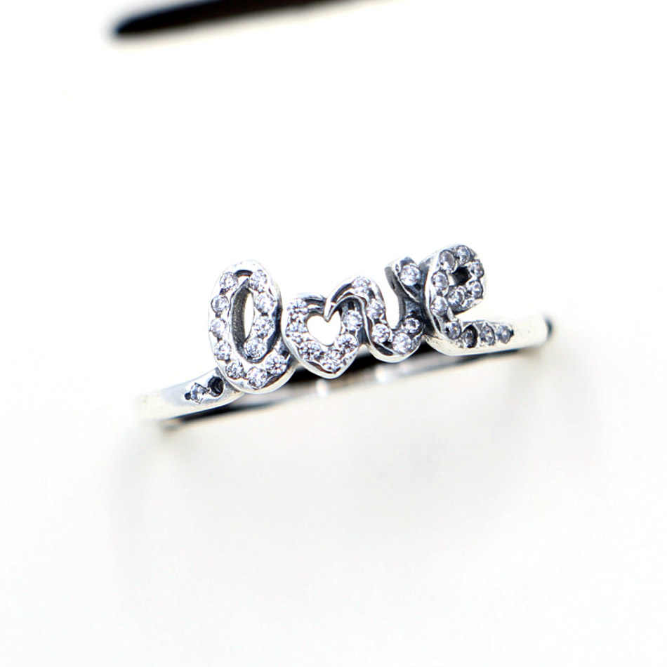 9f35821b9 ... New 925 Sterling Silver Ring Elegance Heart Clover Silver Hearts Tiara  Rings For Women Wedding Party ...