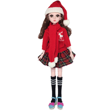 1/3 60cm BJD Dolls with Handmade Sweater 21 Movable Jointed Dolls Toy Accessories Clothes for Doll Toy for Girls bjd doll clothes sexy lace underwear clothing for dolls 1 3 1 4 black color underwear toy clothes fashion dolls accessories