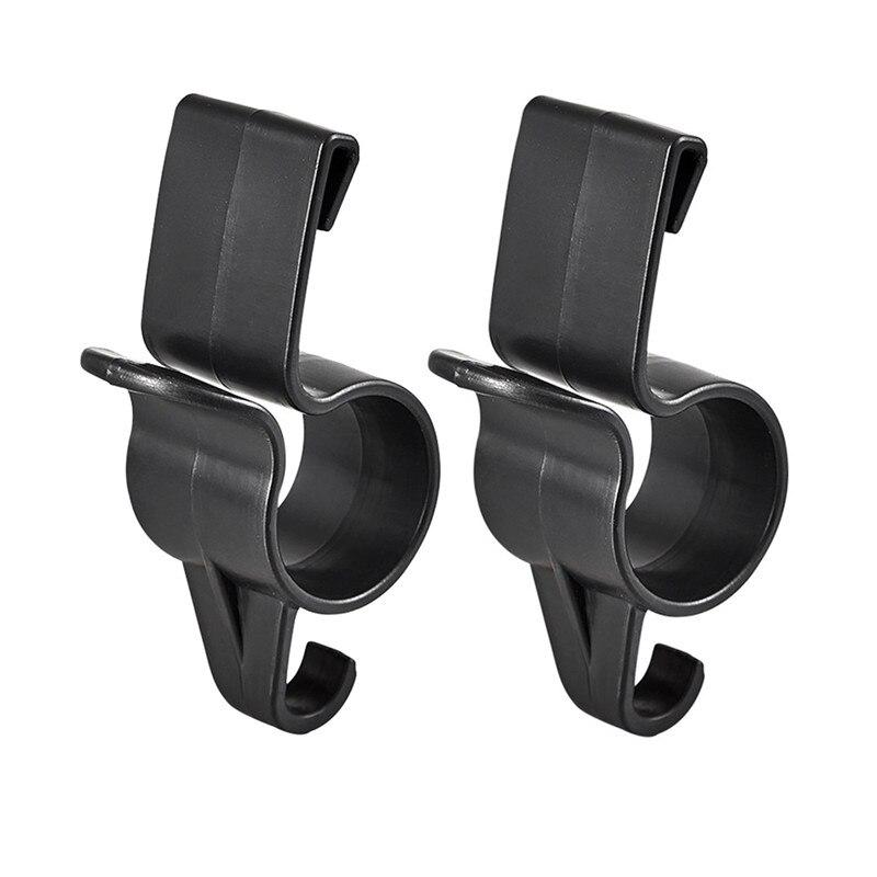 2Pcs Umbrella Holder Storage Hook Car Rear Trunk Mounting Bracket Towel Hook