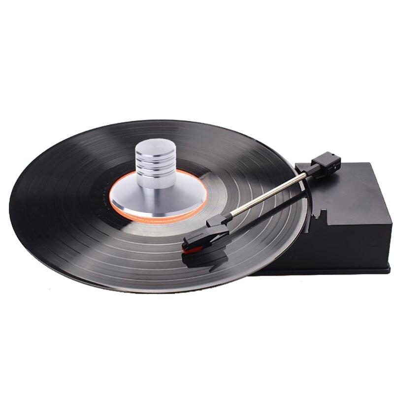 LP Виниловый проигрыватель сбалансированный металлический Дисковый стабилизатор весовой зажим поворотный стол HiFi Виниловые проигрыватели      АлиЭкспресс